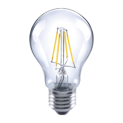 LUX LED A19 Filament 4.5W Clear