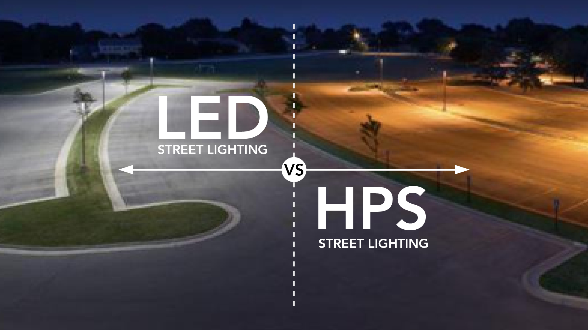 Pressure Sodium Hps Street Lighting Still Illuminating Most Of Our Streets And Neighborhoods Ledvshps